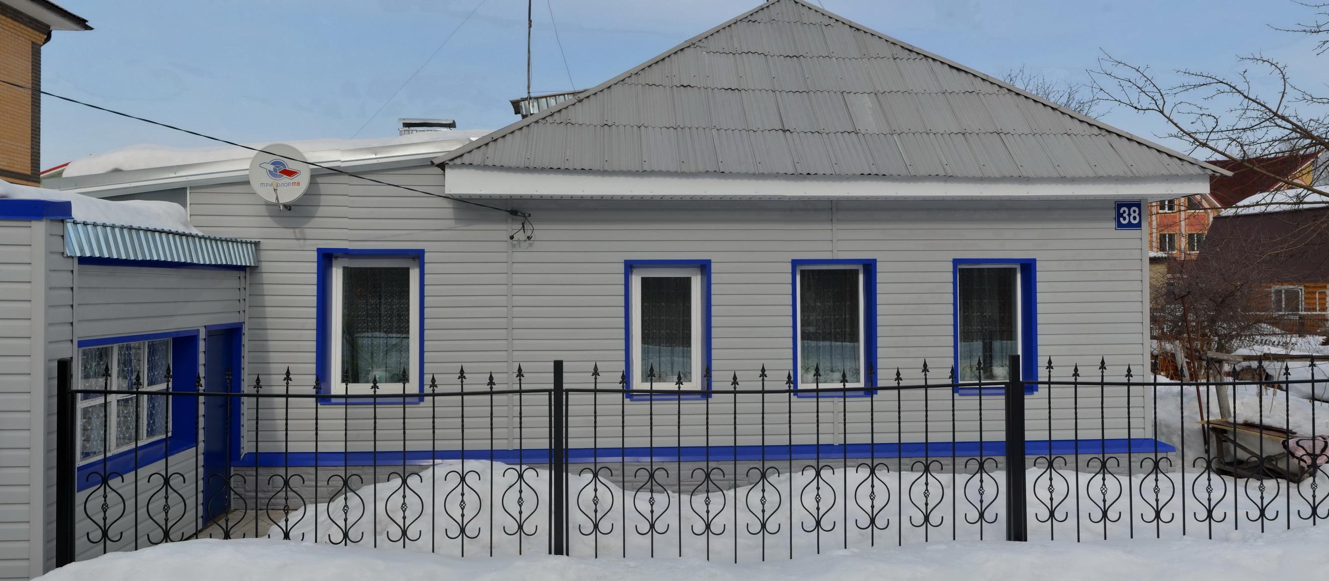 Устройство фасада здания и установка забора в Йошкар-Оле